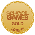 School Games Gold Award Logo
