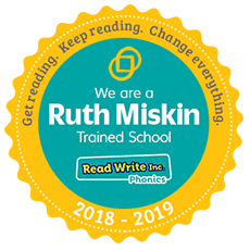 Ruth Miskin Trained School Logo